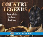 3CD Evergreen - Country Legends