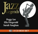 3CD Evergreen - Jazz Legends