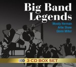3CD Evergreen - Big Band Legends